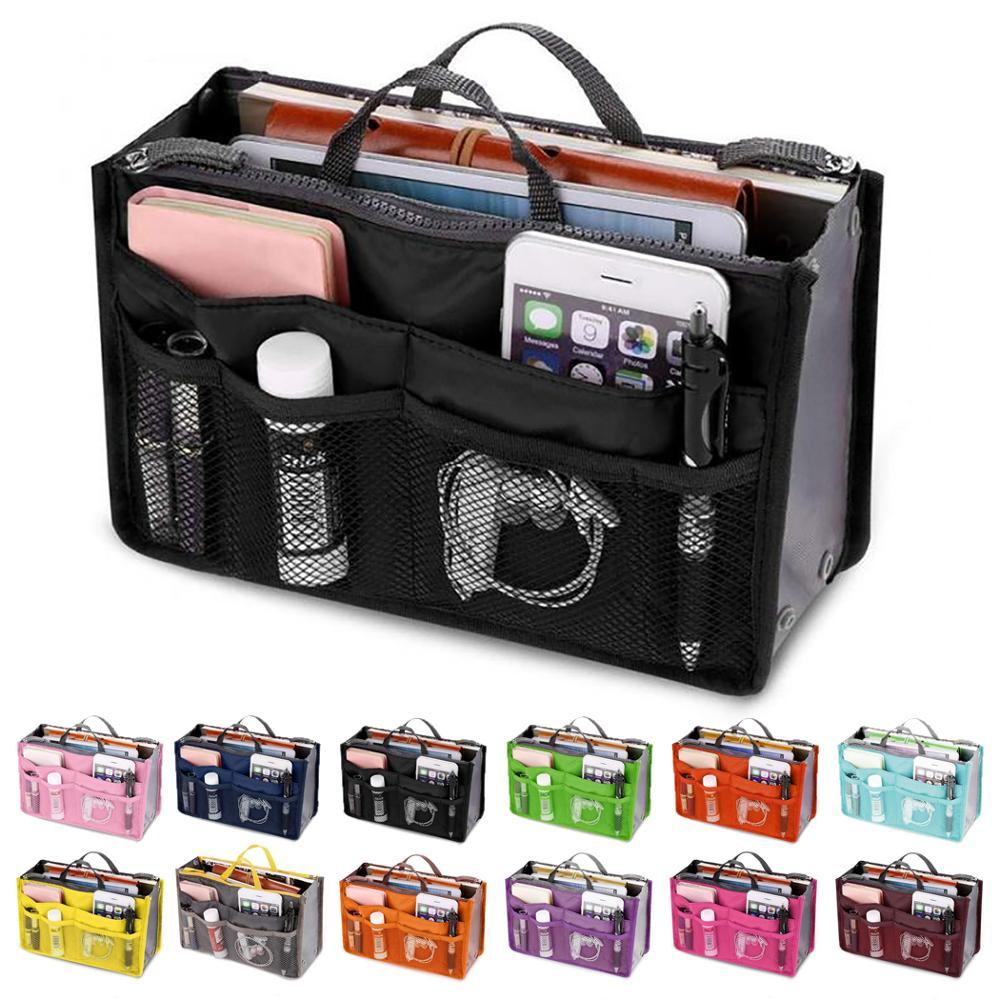 Cosmetic Bag Makeup Travel Organizer Portable Beauty Pouch Functional Toiletry Make Up Organizers Phone Case