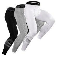 2019 hommes collants de course pantalons de Compression hommes Sport Legging séchage rapide Fitness élastique Sport Sport Jogging pantalon mâle
