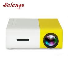 Salange YG300 Mini Projektor 320x240 Pixel Unterstützung 1080P YG-300 HDMI USB Audio Video Beamer