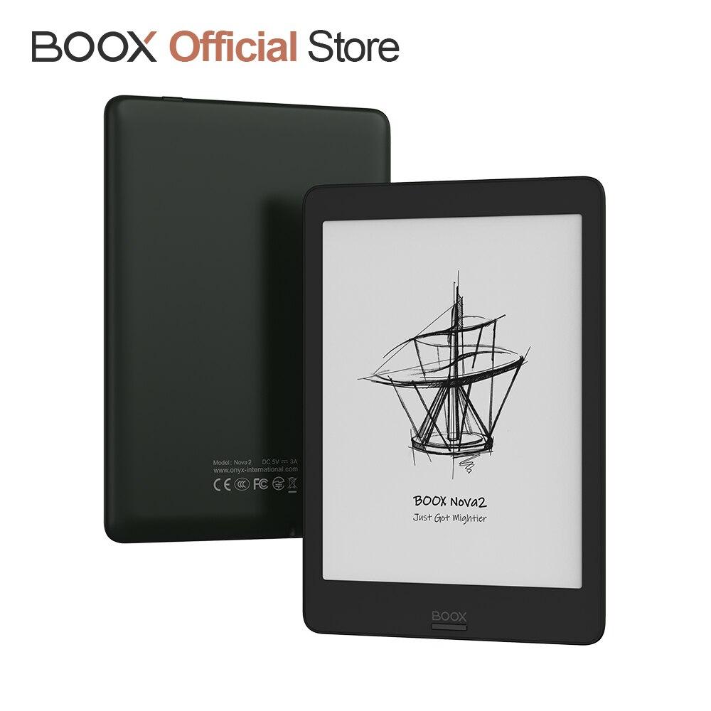 BOOX Nova2 7,8 + Accesorios gratuitos, Android 9,0 luz frontal Dual Touch USB OTG e-reader ePaper Eink Tablet