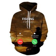 Sudaderas divertidas de peces tropicales 3D para pesca pescador hombres mujeres de manga larga con capucha sudaderas con capucha Streetwear Hip Hop chaquetas