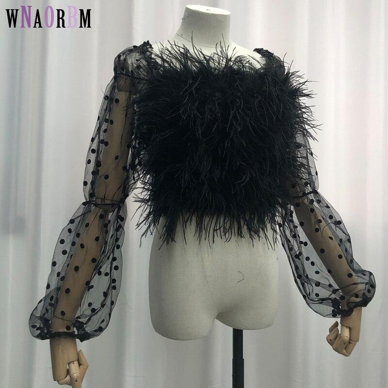 Новинка, Лидер продаж, пикантный бюстгальтер с рукавами из 100% натурального страусиного ворса, нижнее белье, женское меховое пальто, пальто и...