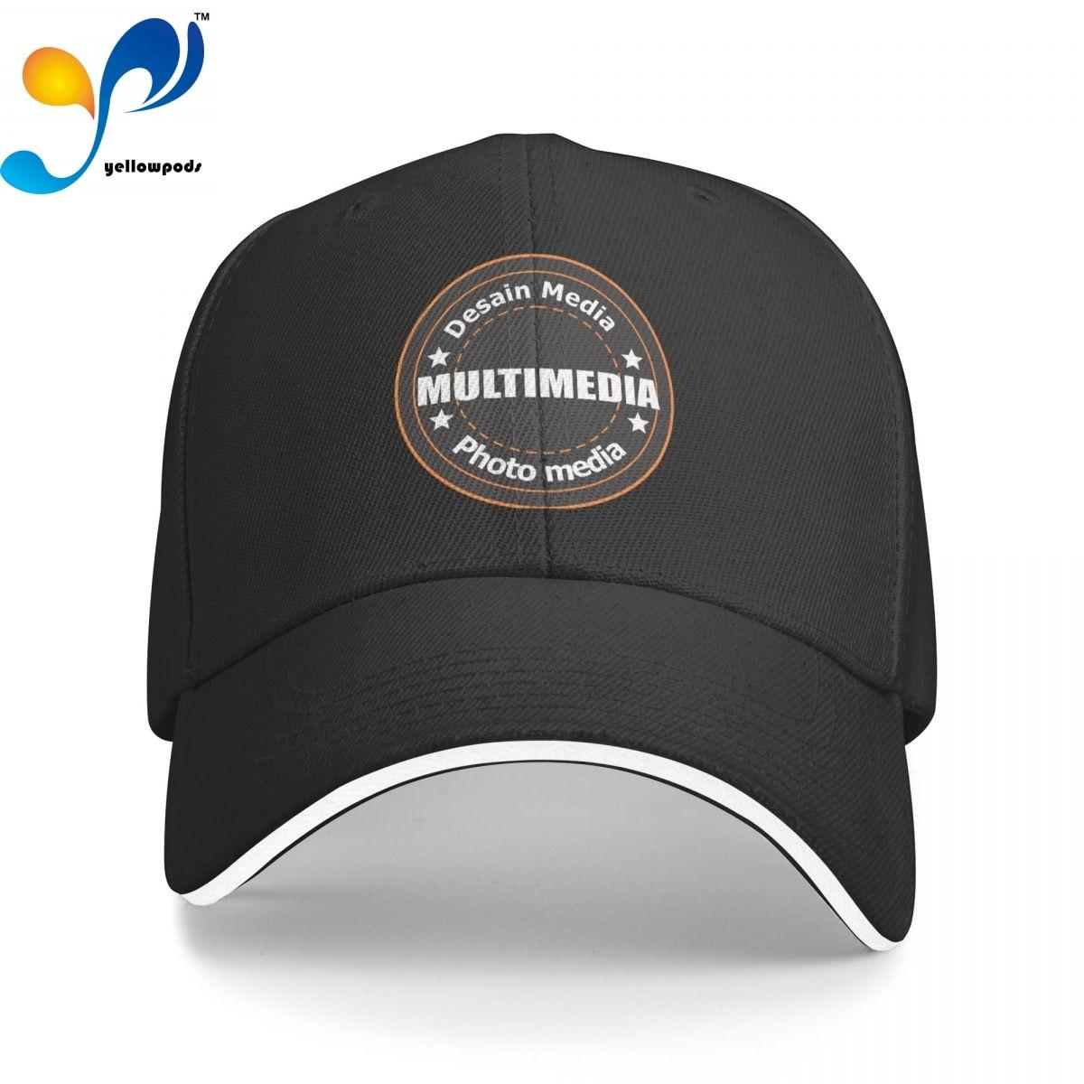 Бейсболка Мужская мультимедийная, модные кепки с фото и логотипом, шапка для мужчин, кепка для отца, Кепка-тракер