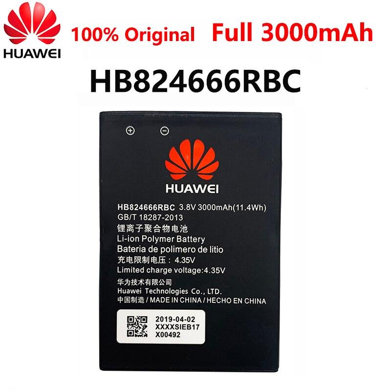 100% Orginal Hua Wei HB824666RBC Battery Real Capacity 3000mAh For Huawei E5577 E5577Bs-937 E5577s-321 WIFI Router 15pcs second hand hua wei hg8310m 1ge gpon ont onu without box