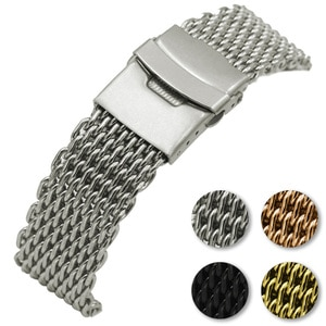 18mm 20mm 22mm 24mm Universal Milanese Watchband Universal Stainless Steel Strap Replacement Watch Band