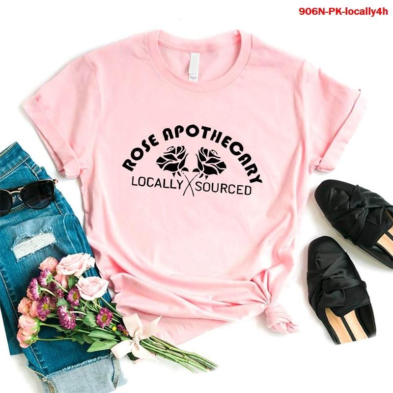Camisetas estampadas estéticas para mujer, Camiseta con estampado de Apothecary, ropa Harajuku...