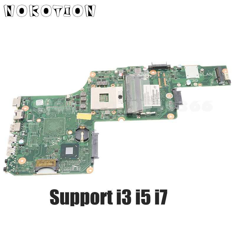 NOKOTION لتوشيبا S855 L855 اللوحة V000275350 V000275210 1310A25099101 اللوحة دعم i3 i5 i7