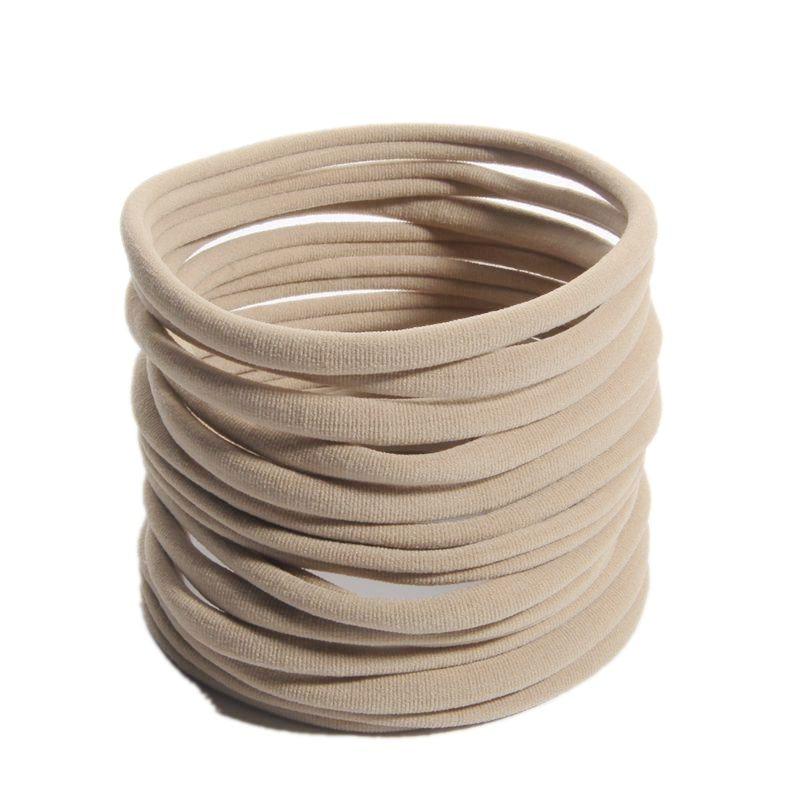 "10 pçs 32cm perímetro 12.6 ""grande náilon bandana de cabelo elástico accessoriesboutique hairband elástico cabeça wear wrap"