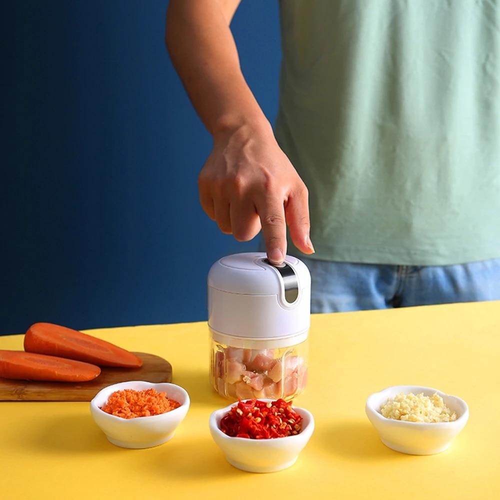 aliexpress.com - DTVANE 250ml Meat Grinder Mini Food Garlic Vegetable Chopper Crusher Rechargeable Food Processors Mixer Kitchen
