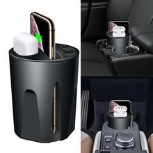 696X9 QI voiture sans fil rapide chargeur tasse pour iphone support de Charge support de Charge pour Apple XS MAX/XR/X/8 PLUS pour samsung note10/9