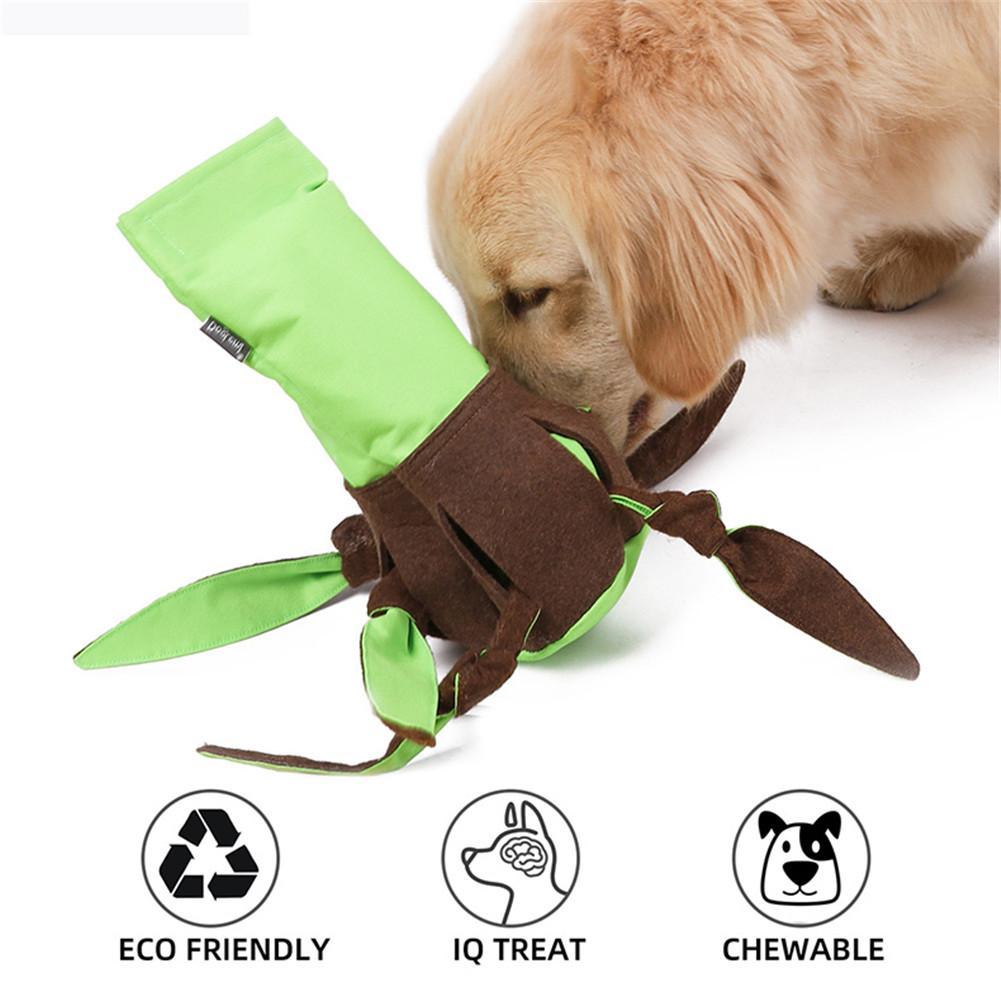 Lustige Hund Spielzeug Recycling Pet-Sniffing Fütterung Matte Puzzle Ausbildung Octopus IQ Spielen Spielzeug Einfache Kunststoff Flasche Tuch Hülse Für pet