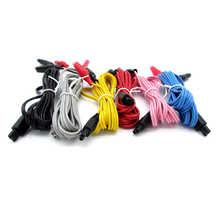 6 шт. электронный зажим аллигатора кабель провод, иглоукалывание иглы зажим для YD KWD 808i электронный инструмент для лечения акупунктуры