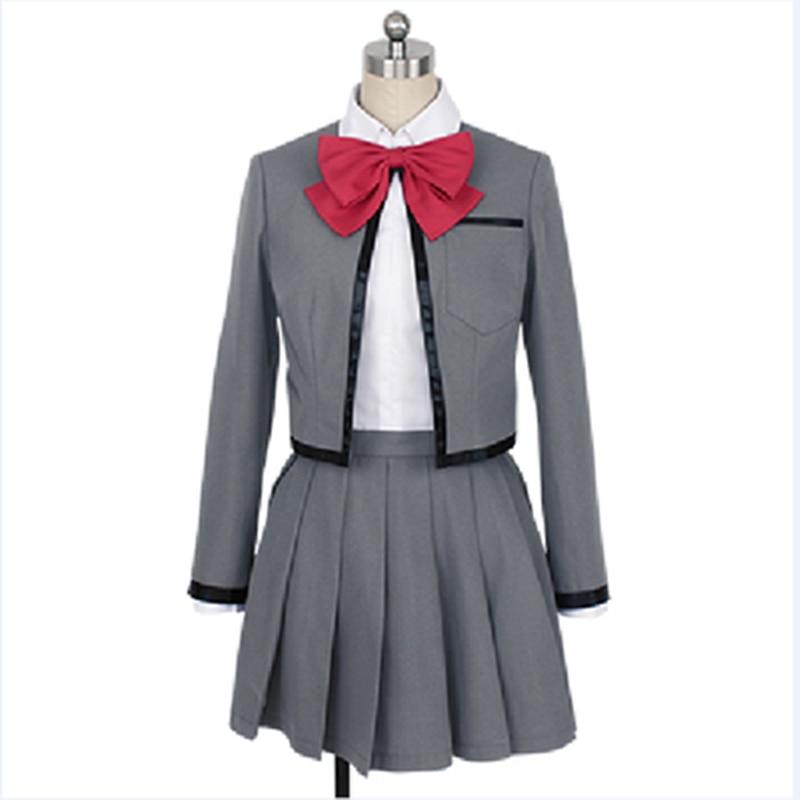 Anime Revue Starlight Karen Aijo/Hikari Kagura/Maya Tendo Cosplay Costume Dress outfit uniform Halloween Carnival Party Costumes