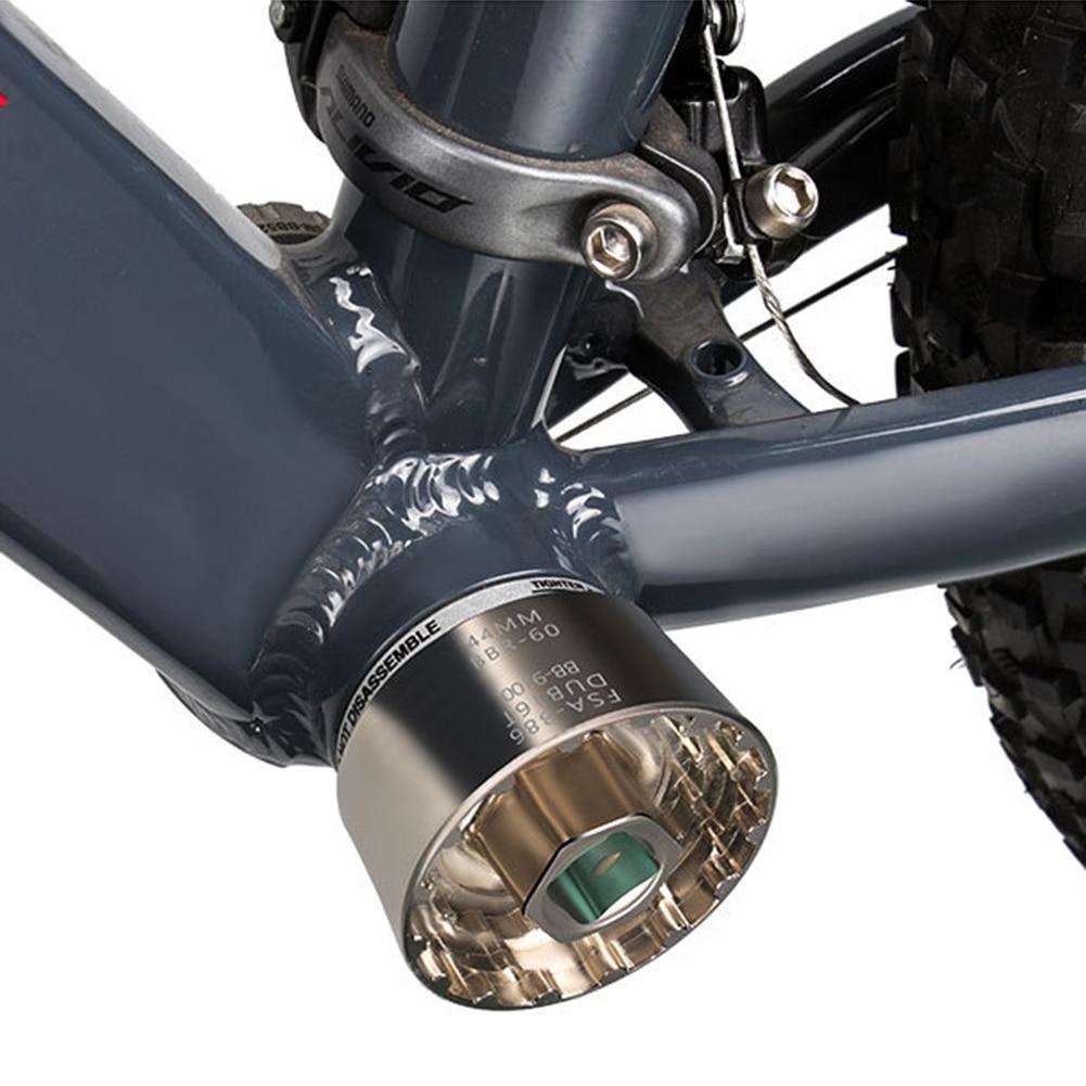 Herramientas de reparación de soporte inferior para bicicleta 5 en 1, suministro de cuidado Personal para bicicleta al aire libre para piezas de Ciclismo de dobl16t FSA386