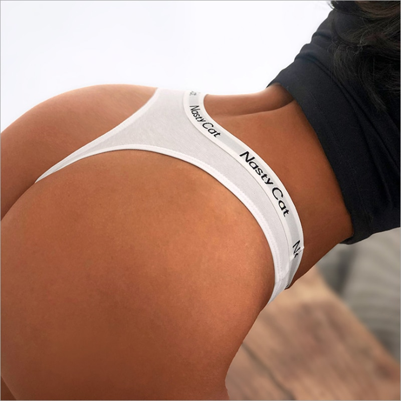 Women Cotton Panties Briefs Underpants Female Sexy Panties Thong Panty Comfortable Underwear Low-Rise Intimate Lingerie Knickers