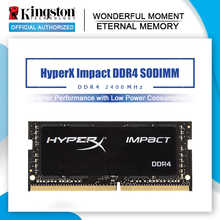 Kingston HyperX Impact sodimm ddr4 2400 МГц 4g 8g 16g CL14 память ноутбука 1,2 V DRAM 260 pin Intel игровая память ноутбука 4 ГБ 8 ГБ