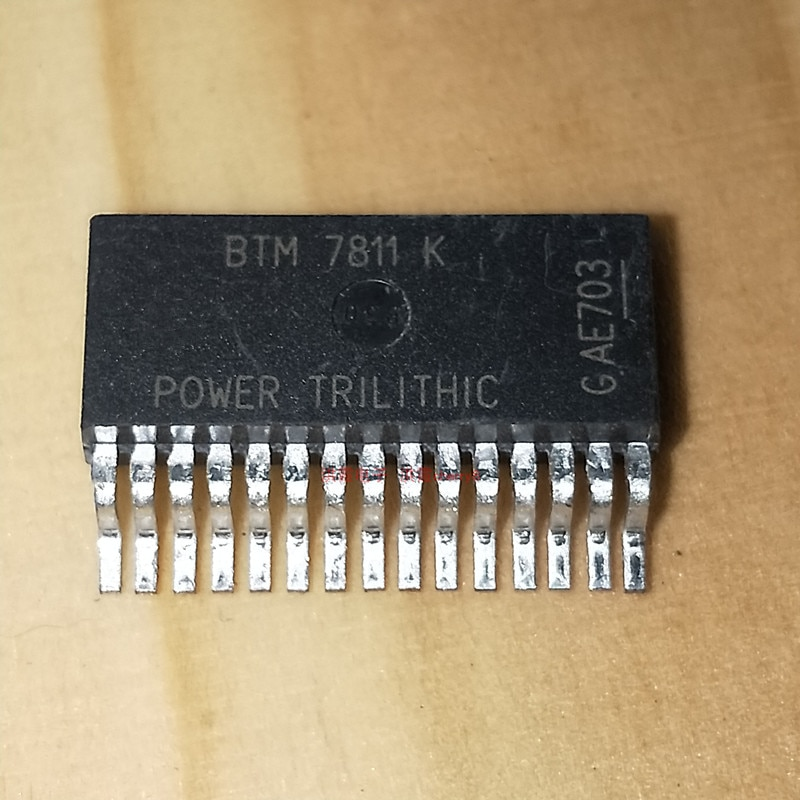 10 Pçs/lote BTM7811K BTS7811K IC BRIDGE DRIVER PAR TO263-15