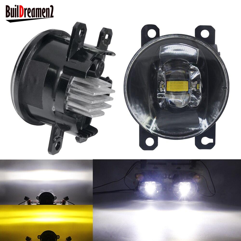 2 X LED Nebel Licht 30W 8000LM Auto Front Stoßstange Nebel Lampe Für Subaru Outback Forester WRX STI Impreza legacy BRZ XV Justy Levorg