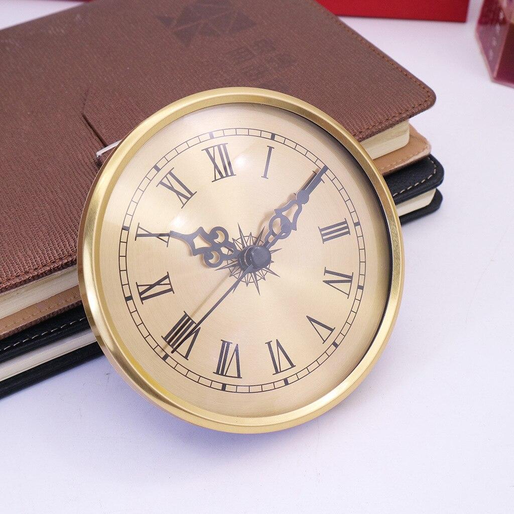 Relógio de Inserção Profissional Quartzo Numeral Romano Faça Você Mesmo Reparos Caber 86mm Buraco 4 .. 25