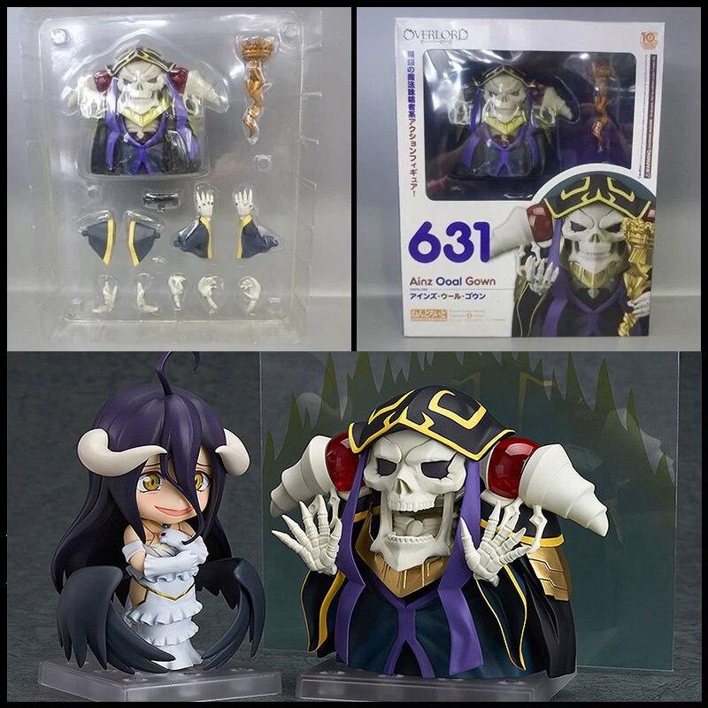 Anime Über Herr Ainz Ooal Kleid 631# 642# Sammeln Modell Action Figur Figuren T30