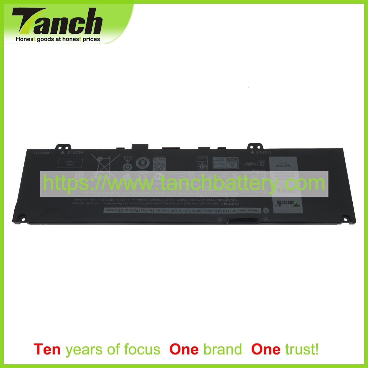 Tanch بطاريات الكمبيوتر المحمول لديل P87G001 P83G RPJC3 39DY5 F62GO 0 451-BCBY 13 7386 5370 11.4V 3 الخليوي