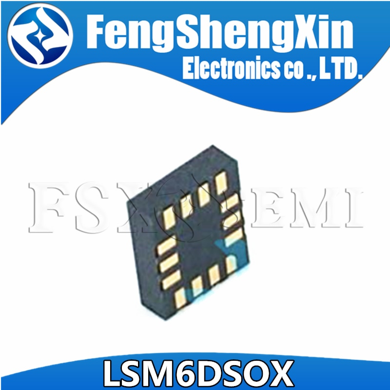 10 قطعة جديد LSM6DSOX LSM6DSOXTR LGA14 iNEMO وحدة