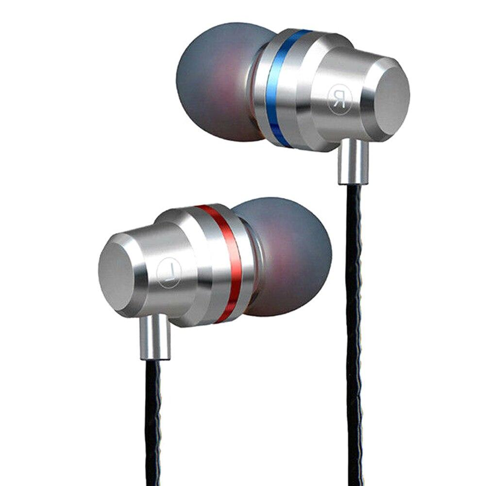 Auriculares intraurales HIFI de 3,5mm auriculares estéreo con cable auriculares con sonido Super bajo para teléfonos LSMK99