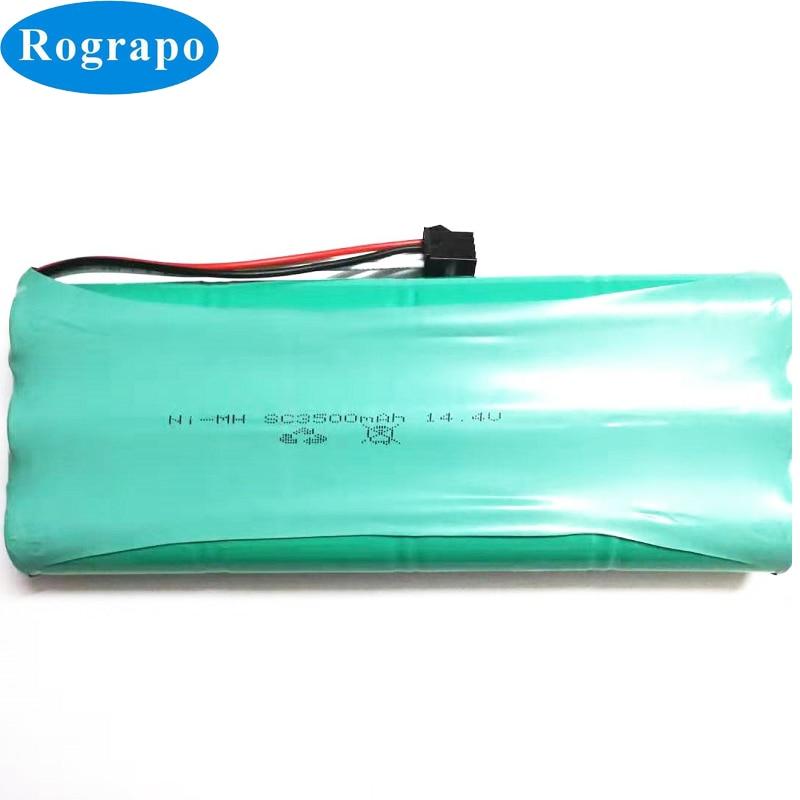 Nuevo 14,4 V 3500mAh Ni-MH SC batería de repuesto para la batería de Ecovacs Deebot D54 Deepoo D56 D58 Deepoo 540, 550 de 560 Deepoo 570, 580