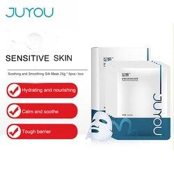 JUYOU (жанян) маска Гиалуроновая кислота увлажняющая чувствительная кожа настоящая гигантская увлажняющая Чувствительная маска для ухода за мышцами