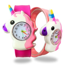 2020 Hot Pony Watch Children Birthday Gifts Unicorn Watch Girl Boy Baby Bracelet Child Clock Student