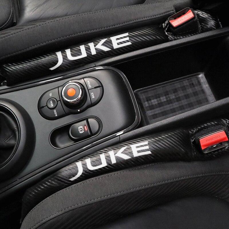 Cojín de asiento de coche, tapón de brecha, Protector a prueba de fugas, almohadilla de cubierta de asiento de coche para Nissan JUKE, accesorios de estilo de coche