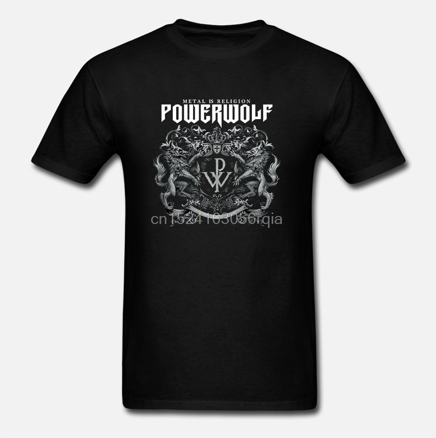 Camiseta crest-metal Is Religion Powerwolf
