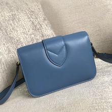 luxury designer women box flap shoulder bag box bag handbag lady box shoulder bag import leather Eur