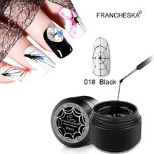 Gel Spider Line For Nails Art Gel Polish UV Colors Painting Gel Nail Polish Spider Gel Lacquer Web S