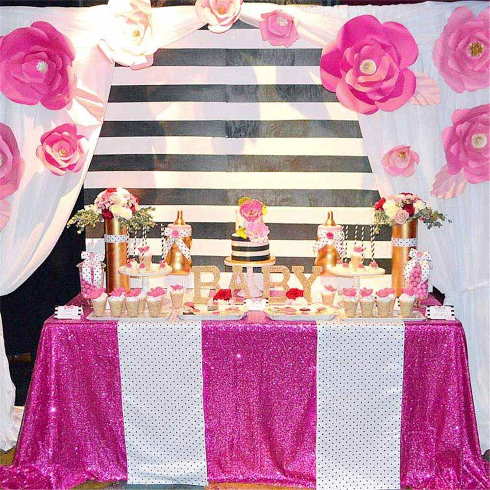 21 colores 225cm X 330cm brillo lentejuela fucsia mantel 90x132 pulgadas boda mantel decoración rectángulo de la tabla de lentejuelas de tela