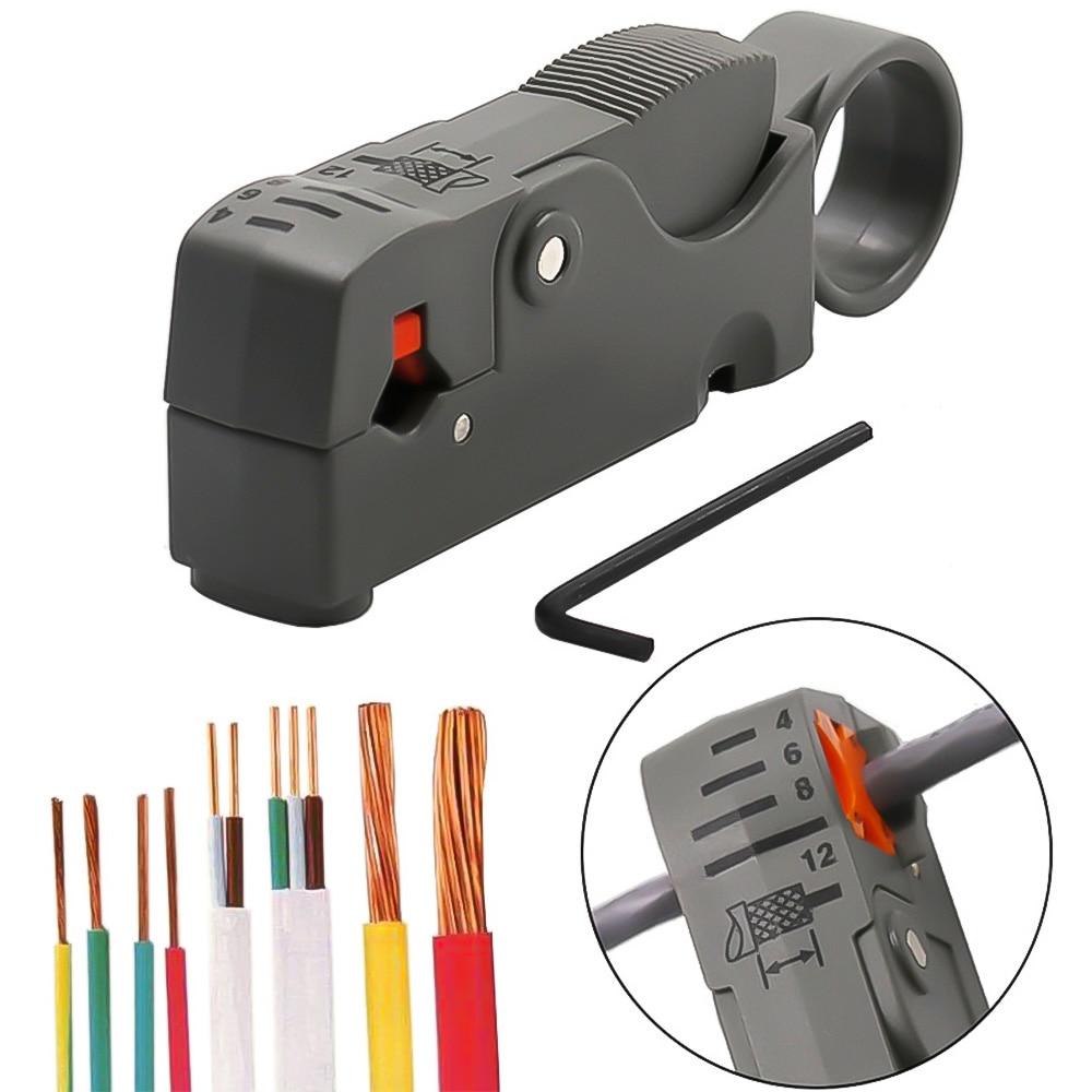 1 ud. Alicates de pelado automático Pelacables Multi-herramienta alicates de prensado herramientas de cable Pelacables alicates de decruestación