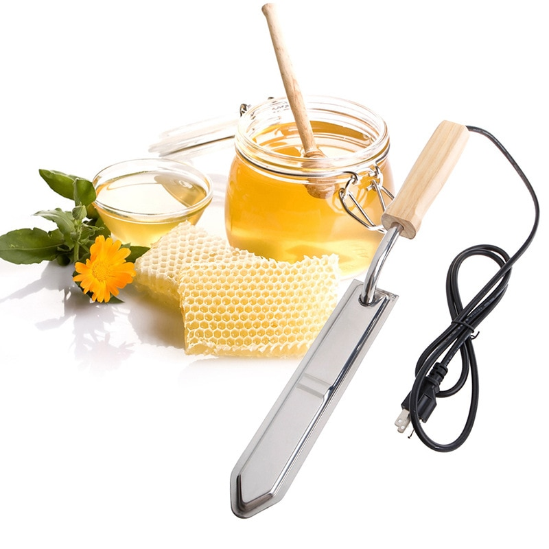 Apicultura Electric Honey Knife Bee keeping Equipment Heats Up Quickly Cutting  Scraper  Extractor Tool EU/UK/US Plug