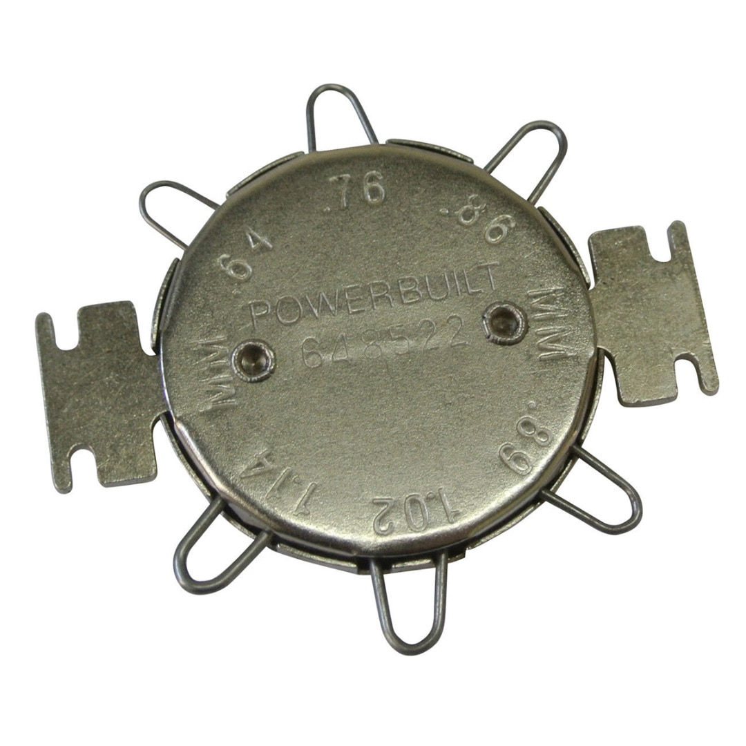 Spark Plug Feeler Gauge For Motorcycle Adjusting Clearance Spark Plug Gap Tool Gapper Feeler Cap Gauge Metric