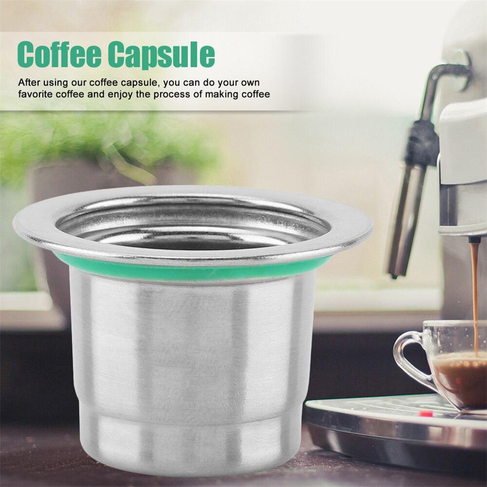 Новые модернизированные многоразовые фильтры для кофе в капсулах, фильтры для кофе Nespresso из нержавеющей стали, фильтры для кофе эспрессо, ко...