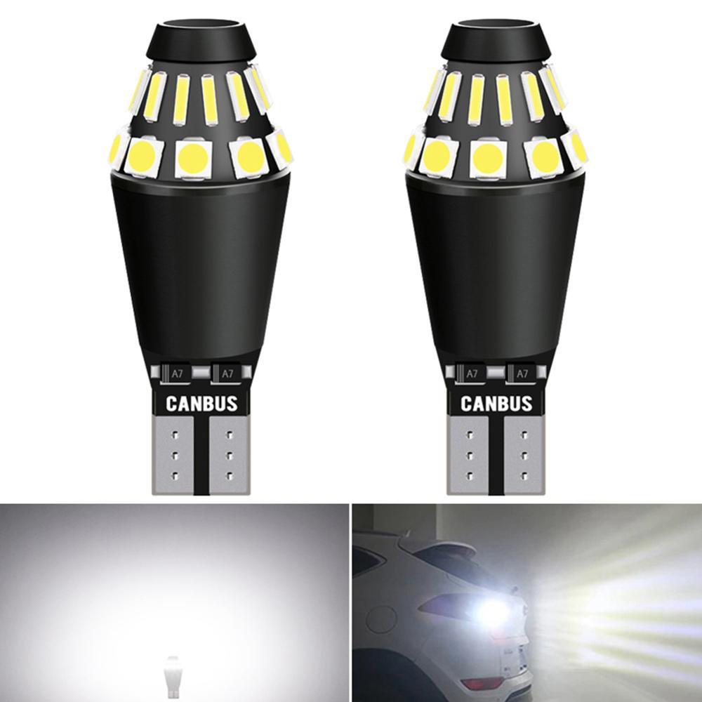 2x T15 T16 W16W LED Luz de marcha atrás de respaldo de coche libre de Error para Kia Sportage Rio K2 K3 3 reposabrazos Ceed Sorento Cerato alma Picanto
