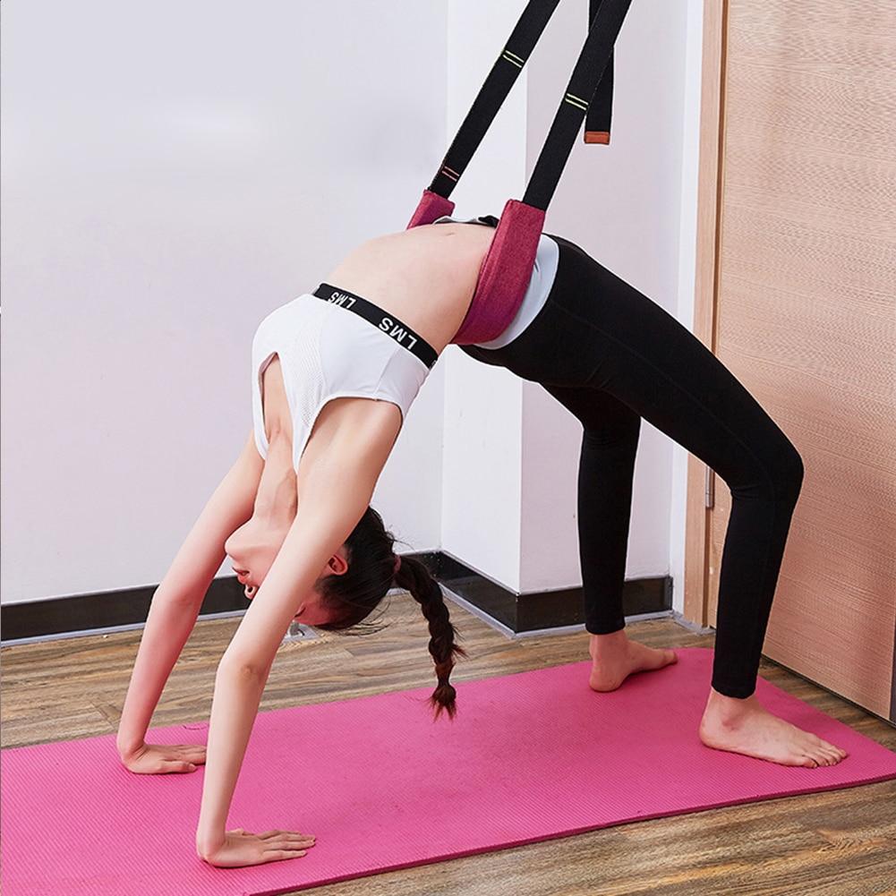 Correa ajustable de entrenamiento para Yoga y Ballet multifunción para aumentar la fuerza de las piernas