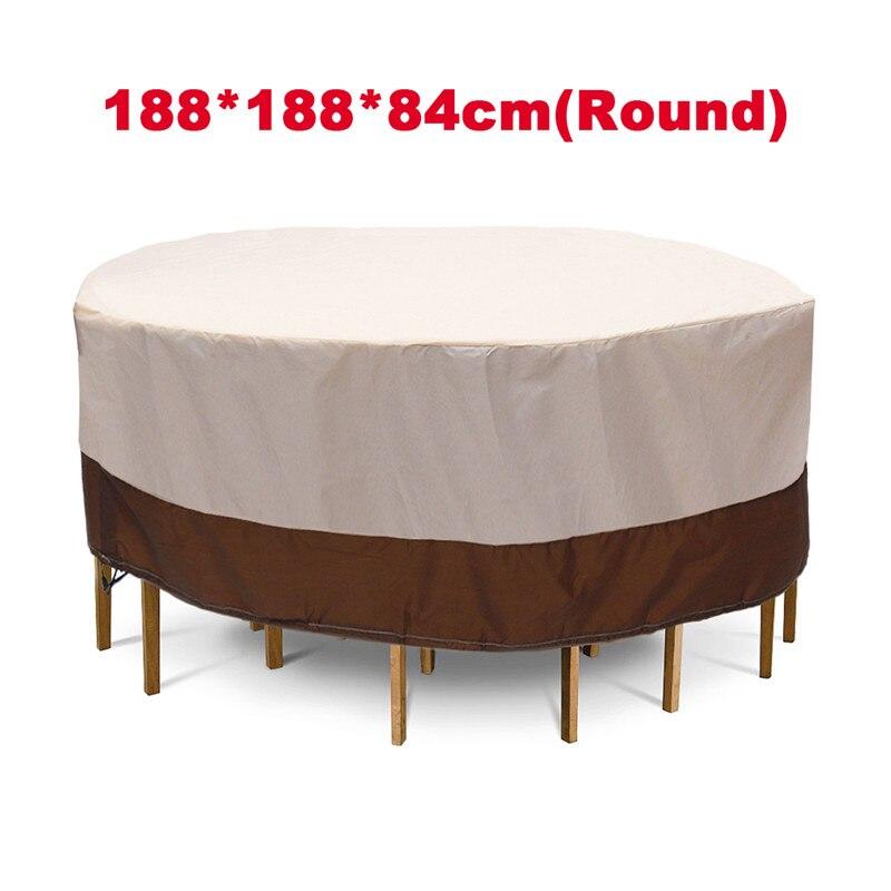 Cubiertas de 3 formas impermeables para Muebles De Jardín de jardín al aire libre cubiertas para sillas de lluvia y nieve para sofá Mesa silla cubierta a prueba de polvo