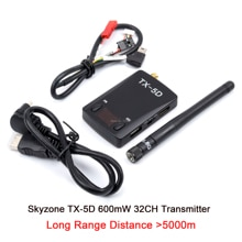 Skyzone TX-5D FPV 5,8 Ghz 600mW 32 Kanal Drahtlose Sender HDMI zu AV CVBS Für FPV Empfänger