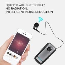 Business Bluetooth Earphones Super Collar Clip Wireless Headphones Air Earbuds Handsfree In Ear Headset For IPhone Huawei Xiaomi
