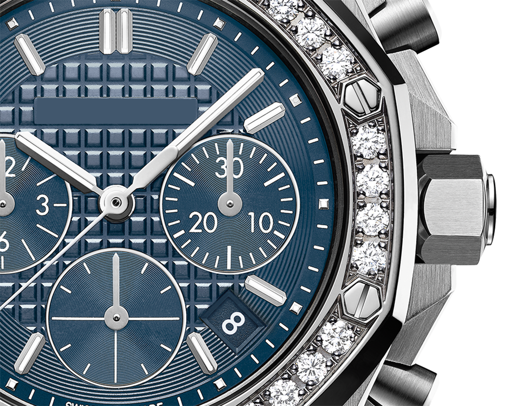 Royal oak offshore selfwinding chronograph luxury mechanical ladies watch rose gold sapphire  waterproof female automatic clock enlarge