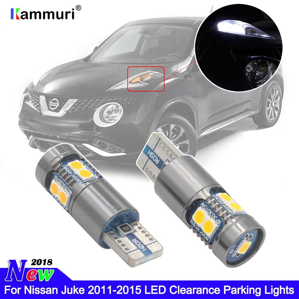 KAMMURI 2X нет ошибок 198 T10 W5W светодиодные лампы для Nissan Juke 2011-2015 зазор парковочные огни маркер лампы Ксеноновые белые