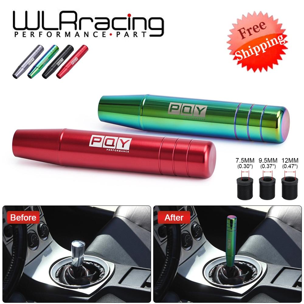 Pomo de cambio de marchas de aluminio de 18CM para Honda Acura Civic transmisión Manual palanca pomo engranaje M10x1.5