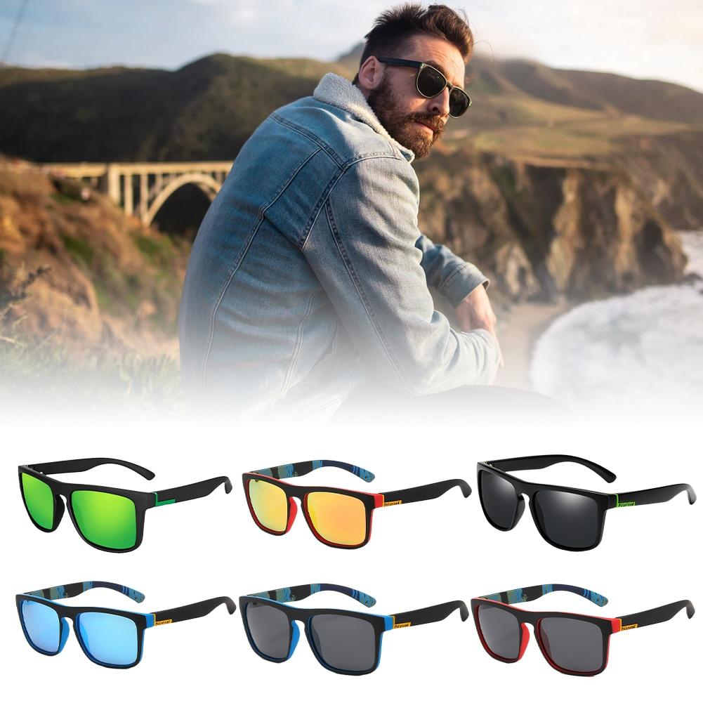 Солнцезащитные очки Мужские поляризационные для вождения, классические темные очки для кемпинга, походов, рыбалки, с защитой UV400