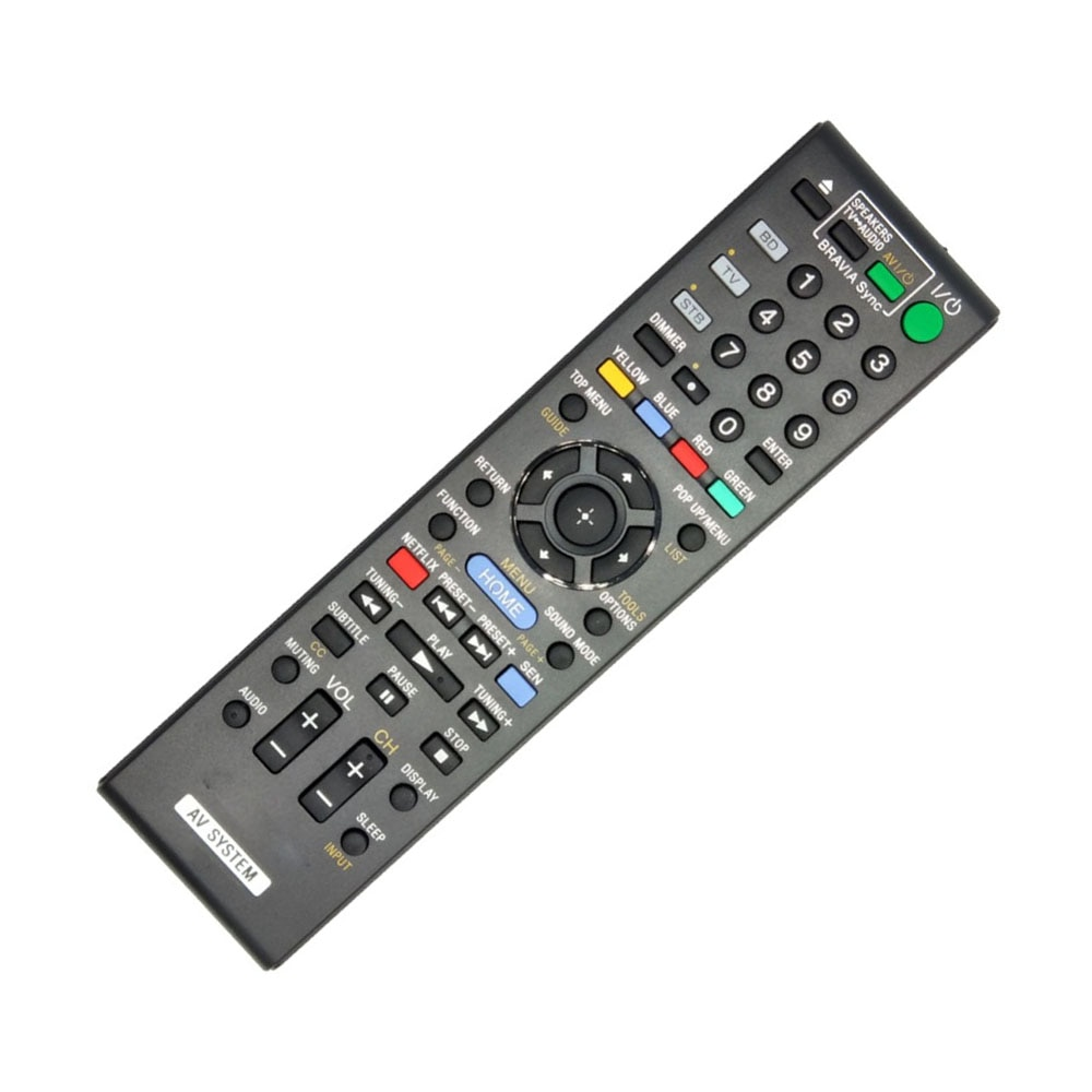 Remote Control Replacement For Sony RM-ADP059 HCD-IT1000ES BDV-IS1000 HCD-IS1000 DVD Home Theater System