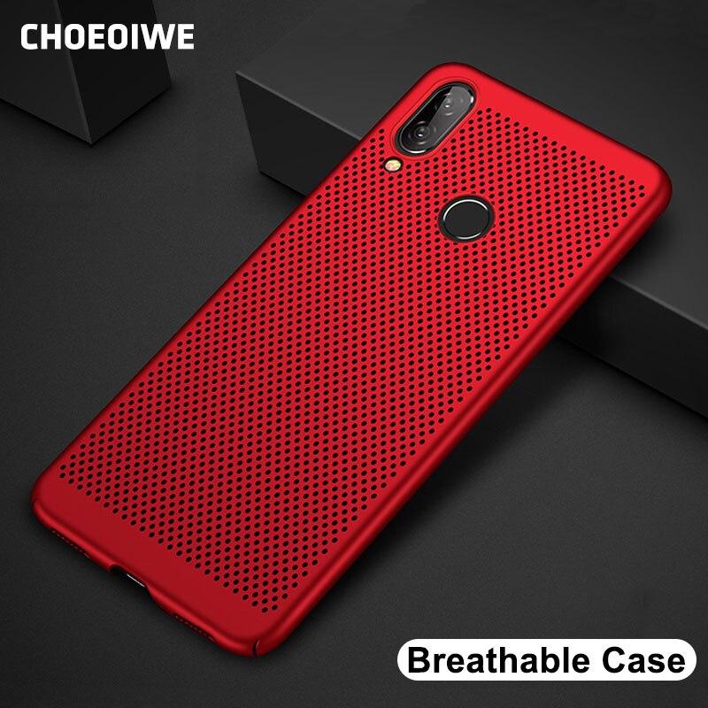 CHOEOIWE Ultra-Delgado funda de teléfono para Xiaomi de refrigeración Mi 9 Redmi 7 Note 7 Pro Redmi 6 Pro 6A S2 Note7, funda rígida de respiración